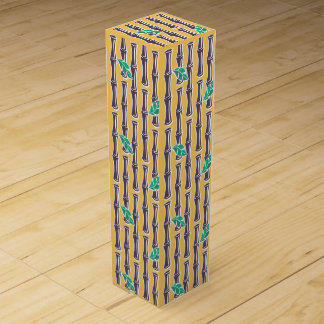 Big Bamboo - Yellow - Wine Box