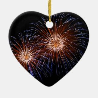 Big Bang 2 Ceramic Heart Ornament