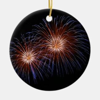 Big Bang 2 Round Ceramic Ornament