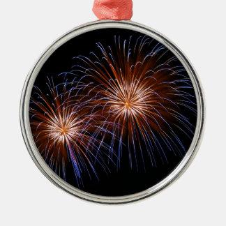 Big Bang 2 Silver-Colored Round Ornament