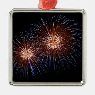 Big Bang 2 Silver-Colored Square Ornament