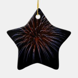 Big Bang Ceramic Star Ornament