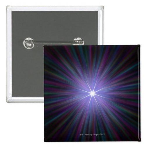 Big Bang, conceptual computer artwork. 2 Buttons