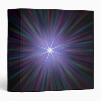 Big Bang, conceptual computer artwork. 2 Vinyl Binder