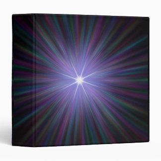 Big Bang, conceptual computer artwork. 2 Vinyl Binder