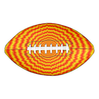 Big Bang in Red and Yellow Football