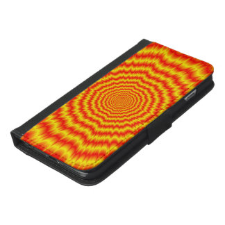 Big Bang in Red and Yellow iPhone 6/6s Plus Wallet Case
