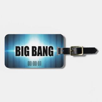Big Bang Luggage Tag