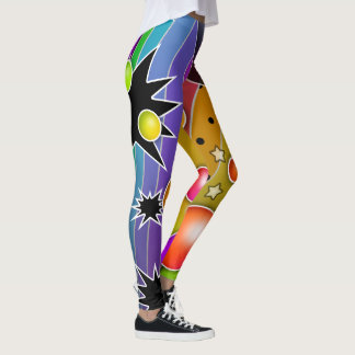 BIG BANG POP ART LEGGINGS