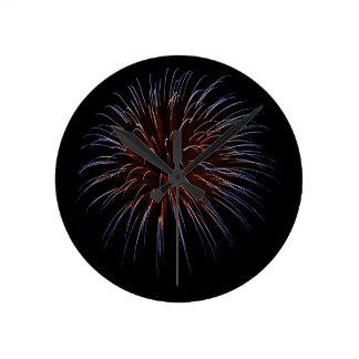 Big Bang Round Clock