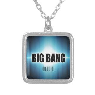 Big Bang Silver Plated Necklace