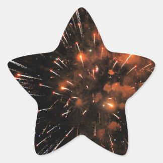 Big Bang Star Sticker