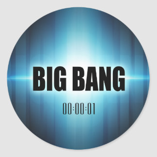 Big Bang Sticker Rond