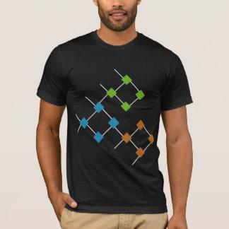 big bang theory argyle fish T-Shirt