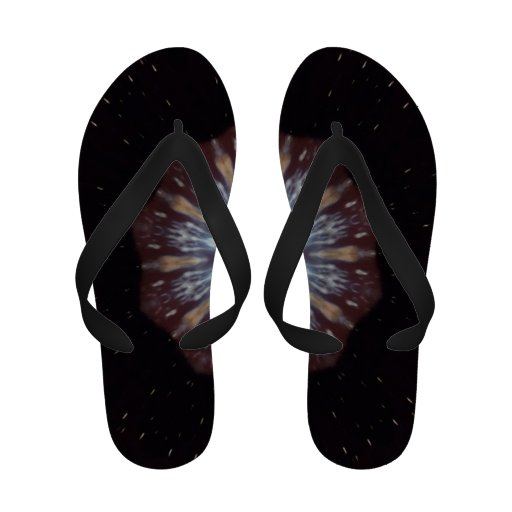 Big Bang Theory Kaleidoscope Sandals