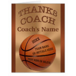 BIG Basketball Coach Cards with ALL Players NAMES