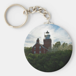 Big Bay Lighthouse Keychain