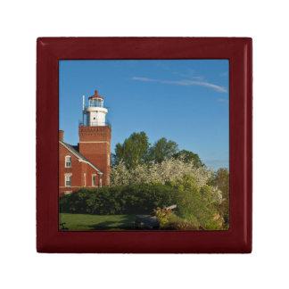 Big Bay Point Lighthouse Trinket Boxes