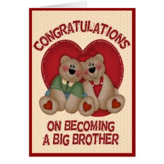 Big Bear Brother Card