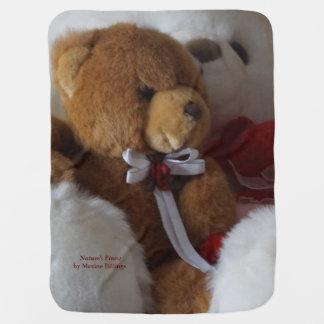 Big Bear, Little Bears Swaddle Blanket