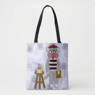 Big Beatnik Sockmonkey Tote Bag