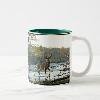Big Beautiful Buck II Two-Tone Coffee Mug