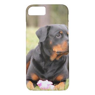 Big Beautiful Rottweiler iPhone 7 Case