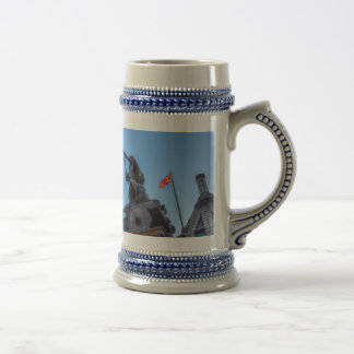 Big Ben and Boadicea Statue Beer Stein