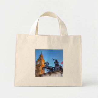 Big Ben and Boadicea Statue Mini Tote Bag