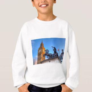 Big Ben and Boadicea Statue Sweatshirt