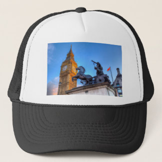 Big Ben and Boadicea Statue Trucker Hat
