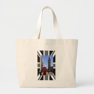 Big Ben and Red Telephone box in London Bags