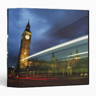 Big Ben and the Houses of Parliament Vinyl Binder