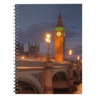 Big Ben and the Westminster Bridge Notebooks