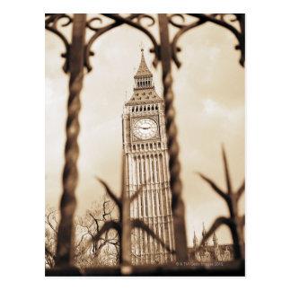 Big Ben at Parliament, London Postcard