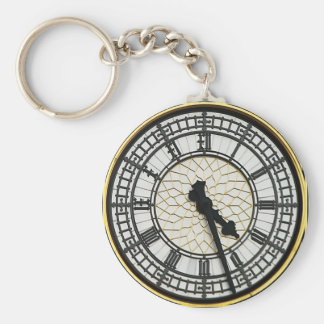 Big Ben Clock Face Keychain