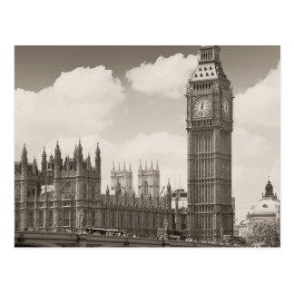 Big Ben Clock Tower London Postcard