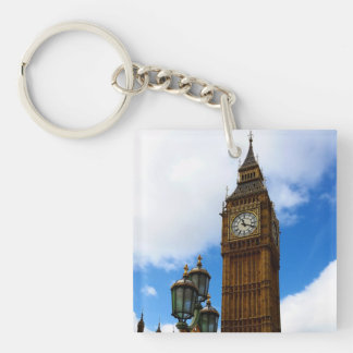Big Ben Customisable Double-Sided Square Acrylic Keychain