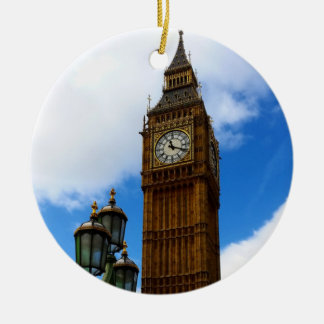 Big Ben Double-Sided Ceramic Ornament