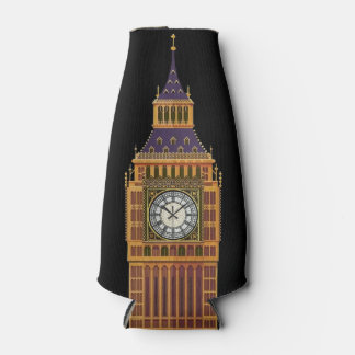Big Ben/English Flag Bottle Cooler