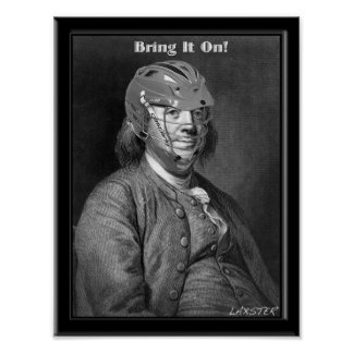 Big Ben Franklin Poster
