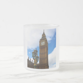 Big Ben Frosted Glass Coffee Mug