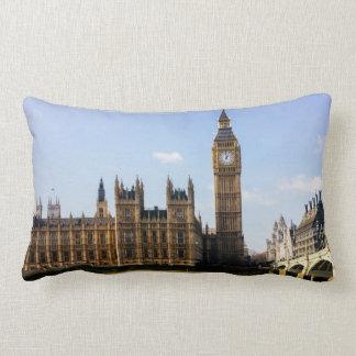 Big Ben, Houses of Parliament, London UK Lumbar Pillow