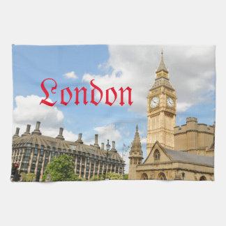 Big Ben in London Hand Towels