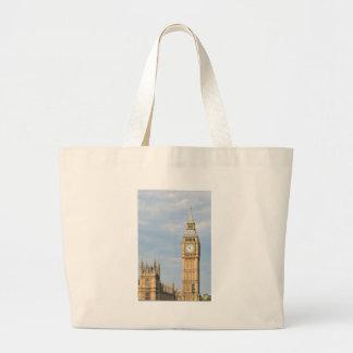 Big Ben in London Large Tote Bag