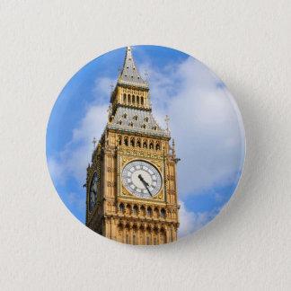 Big Ben in London, UK 2 Inch Round Button
