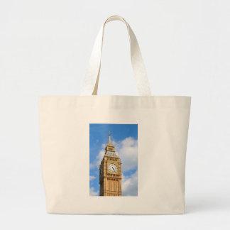 Big Ben in London, UK Large Tote Bag