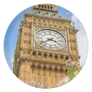 Big Ben in London, UK Plates