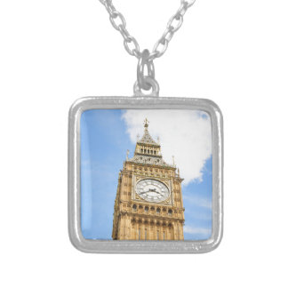 Big Ben in London, UK Silver Plated Necklace