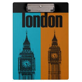 Big Ben in London, Ver. 2 Clipboard